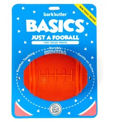 Barkbutler's Basics - Just A Fooball (Small/Red)